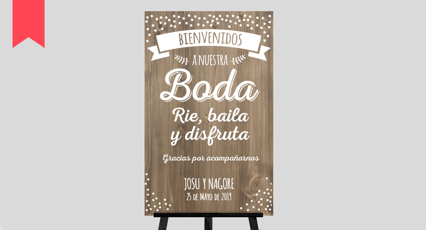 Afiche Aqua Y Tarjetas Regalos Cuadro Personalizado Boda Cartel