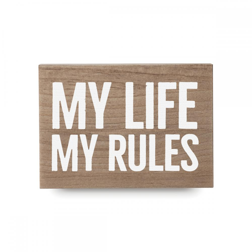 My rules 1